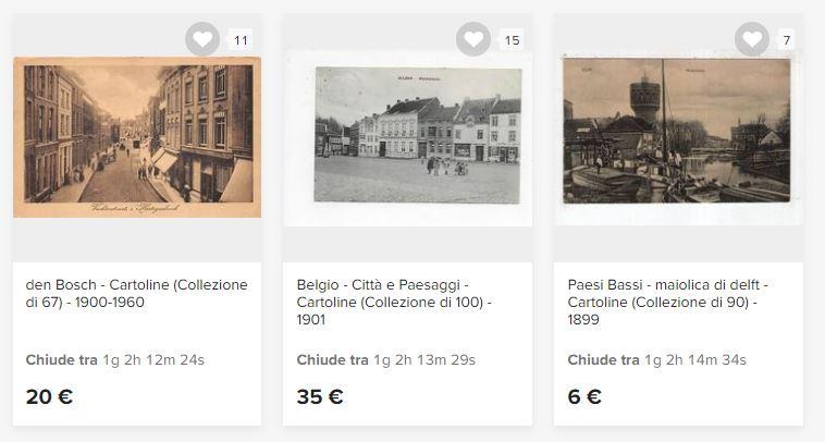 cartoline da collezione antiche vendita on line